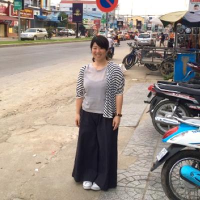 本田尋美 リユースのつながりでカンボジアに幸せを。